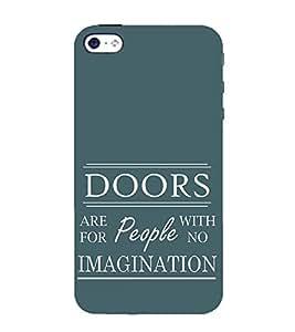 EPICCASE Imagination Mobile Back Case Cover For Apple iPhone 5s (Designer Case)