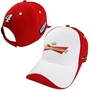 Kevin Harvick Budweiser #4 Nascar Chase Authentics 2014 Official Pit Cap Hat by Chase Authentics