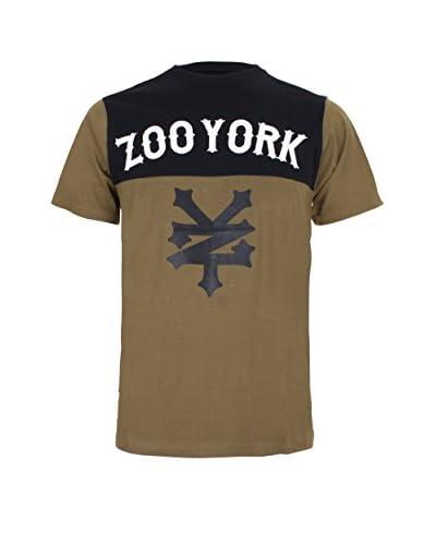 Zoo York Camiseta Manga Corta Waverly Caqui / Negro