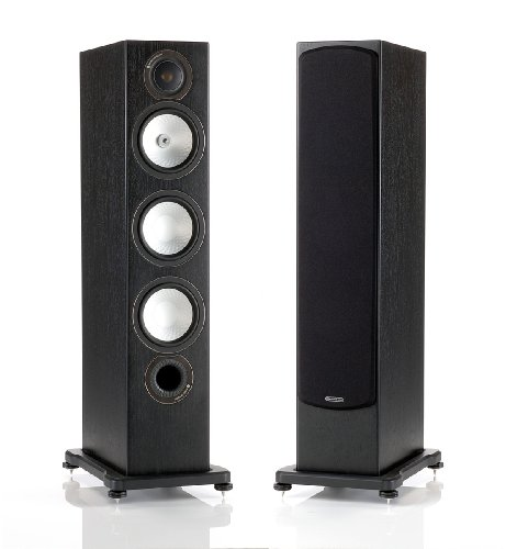 410rkVcrHyL Monitor Audio   Silver RX 8   3 way Floorstanding Speaker   Each   Black Oak Promo Offer