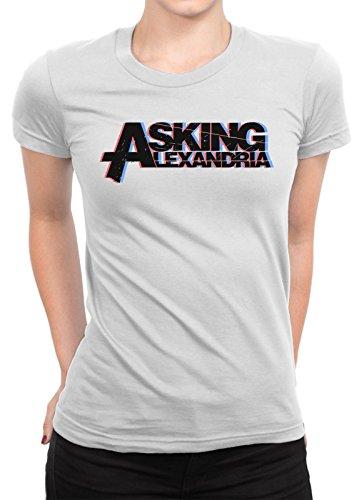 onetwotee -  T-shirt - Donna bianco XXL