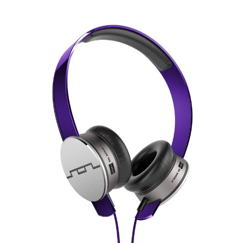 SOL REPUBLIC Headphones Remote and Microphone (Purple)