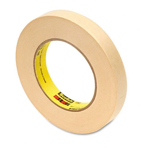 Scotch High Performance Masking Tape 232 Tan, 18 mm x 54.999 m (Pack of 1)