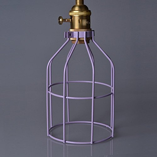 light-industrial-chandelier-birdcage-lampshade-shell