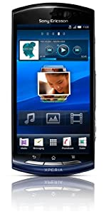 Sony Ericsson Xperia neo Smartphone (9.4 cm (3.7 Zoll) Touchscreen, HDMI, Android 2.3 OS, 8.1 Megapixel, inkl. 8GB MicroSD) blue gradient