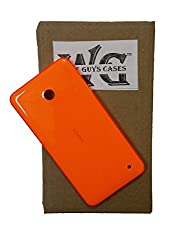 Wise Guys Back Battery Door Panel Replacement Housing Case for Nokia Lumia 630 - Orange