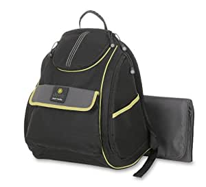 buy jeep back pack diaper bag black lime online at low prices in india. Black Bedroom Furniture Sets. Home Design Ideas