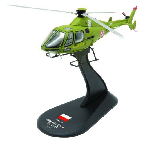 PZL SW-4 Puszczyk diecast 1:72 helicopter model (Amercom HY-42)