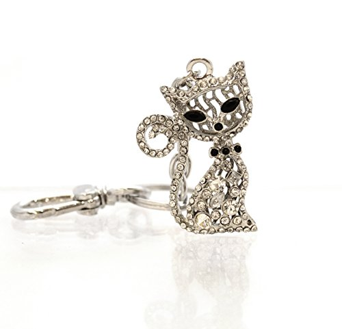 sparkly-cat-bag-charm-keyring-cat-with-black-eyes