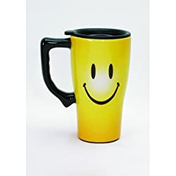 Smiley Face Travel Mug