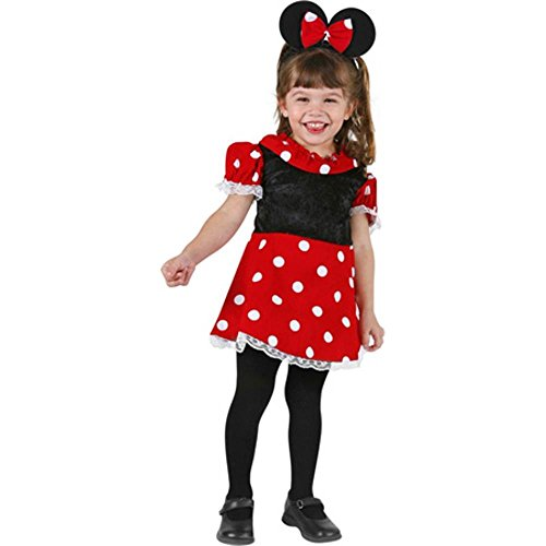 Little Miss Minnie Mouse Toddler Costume