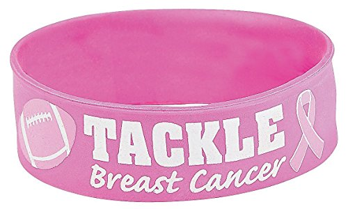Awareness band breast cancer pink wrist