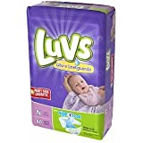 Luvs Ultra Leakguards Diapers - Newborn - 40 ct