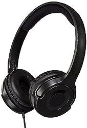 AmazonBasics On-Ear Headphone  (Black)