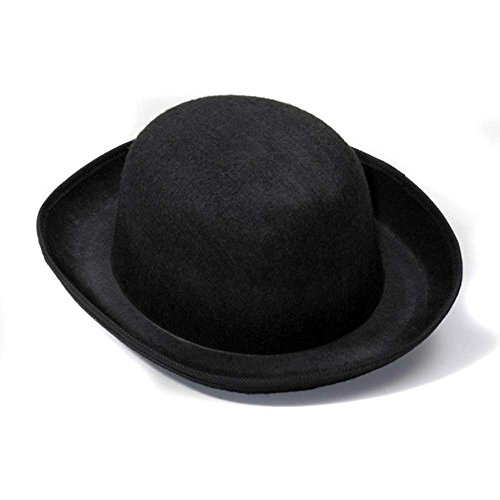 Steampunk Black Derby Felt Hat