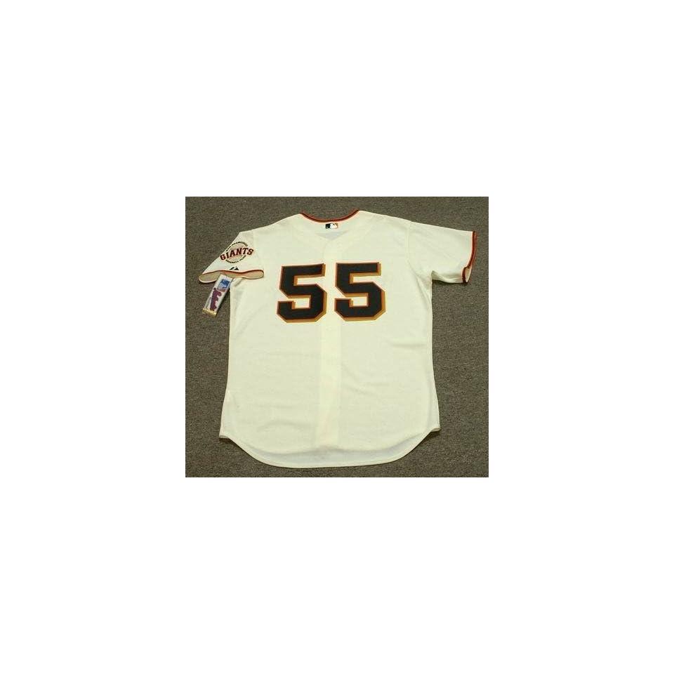 TIM LINCECUM San Francisco Giants AUTHENTIC Majestic Home Baseball Jersey