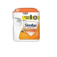 Similac Sensitive粉ミルクの商品イメージ