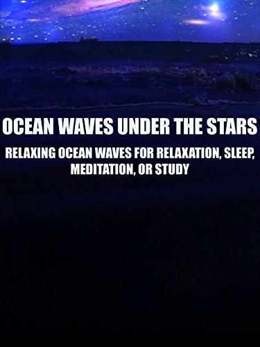 Ocean Waves Under the Stars