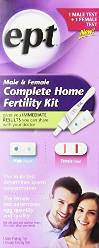 e.p.t. Complete Home Fertility Kit for Male and Female - 1