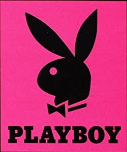 Licensed Queen Size Blanket Playboy Bunny Pink Home Kitchen