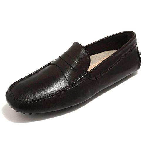 87290 mocassino J. WILTON CALF WASHED HANDMADE marrone uomo loafer shoes men [44]