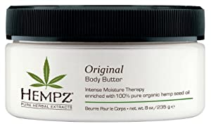 Hempz Herbal Skin Care Body Butter, 8 oz (227 g)