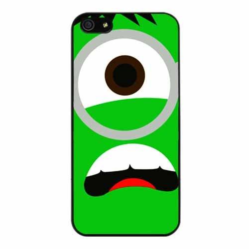 Iphone 5 At&t Sprint Verizon Retail Packingdespicable Me Minion Animation Green Lantern Fashion Design Hard Case Cover Skin Protector(black Pc+pearlescent Aluminum) Ok-024