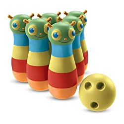 [Best price] Puzzles - Melissa & Doug Happy Giddy Bowling Set - toys-games