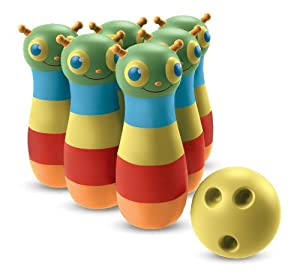 Melissa & Doug Happy Giddy Bowling Set