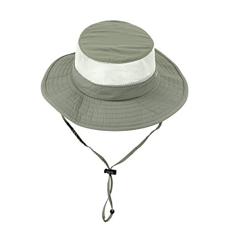 Olive Foldable Boonie Fishing UV Sun Hat w/ Vented Mesh, Hiking & Outdoor Cap (Vented Fishing Hat compare prices)