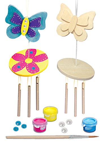 Masterpieces Works of Ahhh Mini Wind Chime Small Peggable Wood Paint Kit