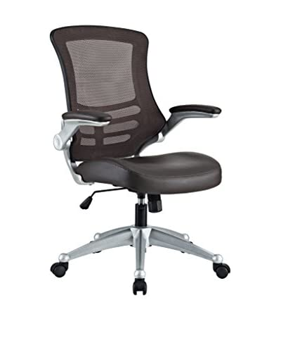 Modway Attainment Office Chair, Brown