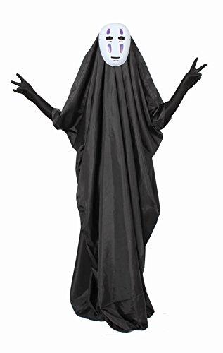 [The masked costume: kaonashi cosplay set Halloween