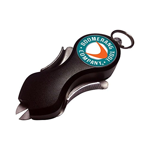 Boomerang Original SINP Fishing Line Cutter, Black (Fishing Line Tool compare prices)