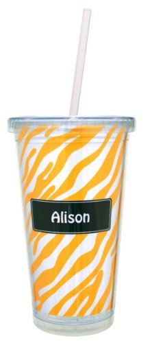Custom Tumblers With Straw front-1041770