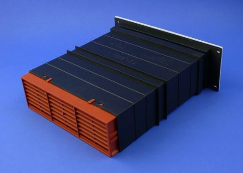 Rytons 9x3 Ventilation Set with Flush Louvre Ventilator - Terracotta - Light and Draught Reducing