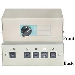 SANOXY RJ45, ABCD 4 Way Switch Box