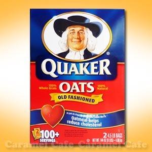 【Quakerクウェーカー】オートミール 2.04kg×2袋 オールドファッション 100%ナチュラルシリアル