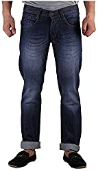 D2NINE Men's Slim Fit Jeans (D2NINE-BLU-_Blue_36)