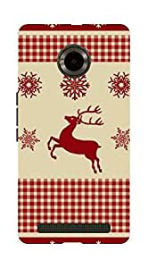UPPER CASE™ Fashion Mobile Skin Vinyl Decal For Micromax yu5010 [Electronics]