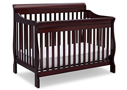 Delta Children Canton 4-in-1 Convertible Crib, Espresso Cherry (Baby Furniture Expresso compare prices)