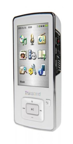 8GB Transcend T.Sonic 860 MP3 player with Radio, Voice Recorder, Video, Photo, E-Book