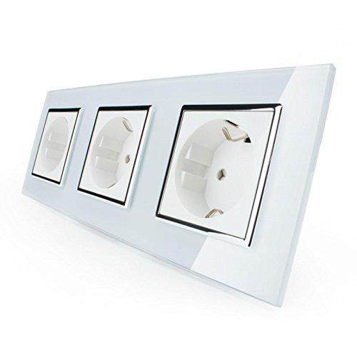 lichtschalter aus glas was. Black Bedroom Furniture Sets. Home Design Ideas