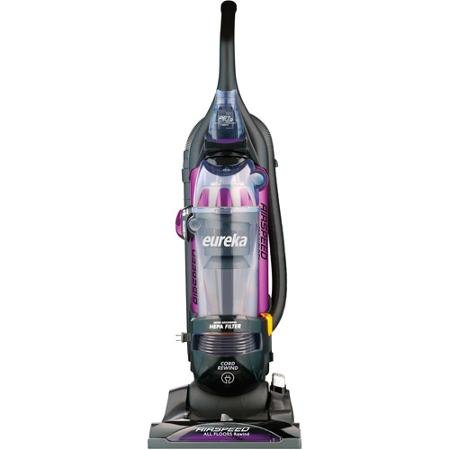 Eureka AS1061A AirSpeed Pro Handheld, All Floors Pet Grooming Ash Bugs, Rewind Bagless HEPA Filter Upright Vacuum Cleaner