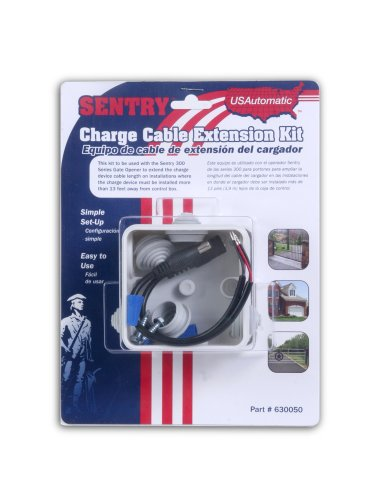 Usautomatic Sentry Charge Cable Extension Kit For Sentry Gate Openers