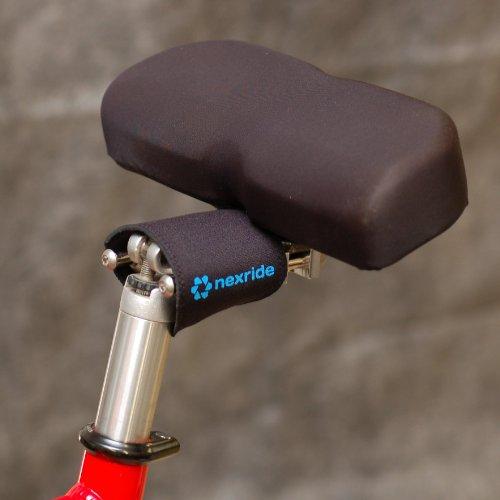 Nexride Pivoting Noseless Bicycle Saddle (Free U.S. Shipping)