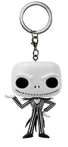 Funko 5315 - Personaggio in Vinile Funko Pop! Nightmare Before Christmas Portachiavi Jack Skeletron