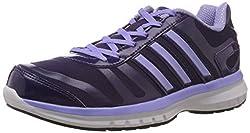 adidas Womens Vulkan 10 W Purple Mesh Running Shoes - 4 UK