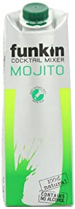 Funkin Mojito Cocktail Mixer 1 Litre (Pack of 6)