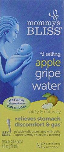 Mommy's Bliss Gripe Water, Apple Flavor, 4-Ounce
